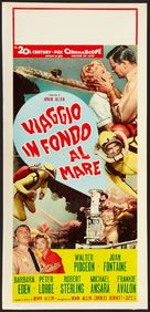 Voyage to the Bottom of the Sea - Italian Movie Poster (xs thumbnail)