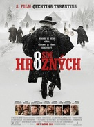 The Hateful Eight - Czech Movie Poster (xs thumbnail)