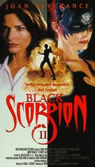 Black Scorpion II: Aftershock - VHS cover (xs thumbnail)