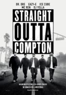 Straight Outta Compton - Polish Movie Poster (xs thumbnail)