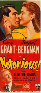 Notorious - Australian Movie Poster (xs thumbnail)