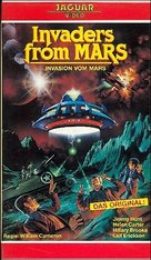 Invaders from Mars - German VHS cover (xs thumbnail)