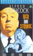 Rich and Strange - British VHS movie cover (xs thumbnail)