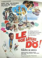Le magnifique - Swedish Movie Poster (xs thumbnail)