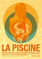 La piscine - French Re-release movie poster (xs thumbnail)