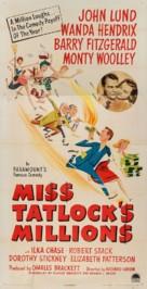 Miss Tatlock's Millions - Movie Poster (xs thumbnail)