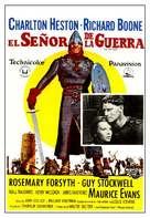 The War Lord - Spanish Movie Poster (xs thumbnail)