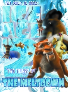 Ice Age: The Meltdown - DVD movie cover (xs thumbnail)