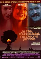 A Soldier's Daughter Never Cries - French Movie Poster (xs thumbnail)