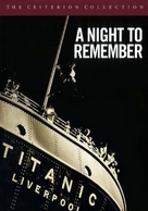 A Night to Remember - DVD movie cover (xs thumbnail)