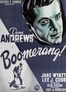Boomerang! - Danish Movie Poster (xs thumbnail)