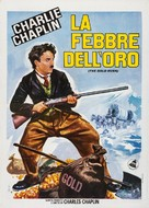 The Gold Rush - Italian Re-release movie poster (xs thumbnail)