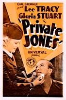 Private Jones - Movie Poster (xs thumbnail)
