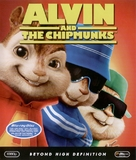 Alvin and the Chipmunks - Blu-Ray movie cover (xs thumbnail)
