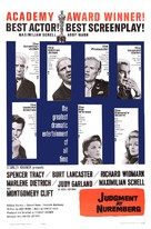 Judgment at Nuremberg - Movie Poster (xs thumbnail)