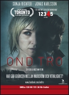 Ond tro - Swedish Movie Poster (xs thumbnail)