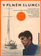 Plein soleil - Czech Movie Poster (xs thumbnail)