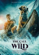 The Call of the Wild - Swedish Movie Poster (xs thumbnail)