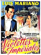 Violetas imperiales - Belgian Movie Poster (xs thumbnail)