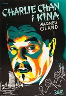 Charlie Chan in Shanghai - Swedish Movie Poster (xs thumbnail)