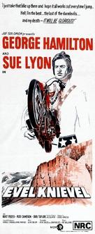 Evel Knievel - Australian Movie Poster (xs thumbnail)