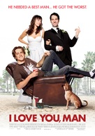I Love You, Man - Norwegian Movie Poster (xs thumbnail)