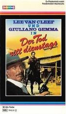 I giorni dell'ira - German VHS cover (xs thumbnail)