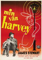 Harvey - Swedish Theatrical poster (xs thumbnail)