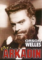 Mr. Arkadin - Brazilian DVD cover (xs thumbnail)