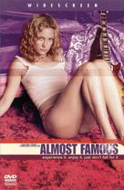 Almost Famous - DVD movie cover (xs thumbnail)