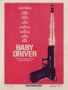 Baby Driver - French Movie Poster (xs thumbnail)