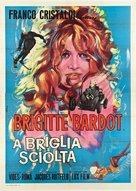 La bride sur le cou - Italian Movie Poster (xs thumbnail)