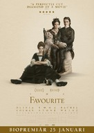The Favourite - Swedish Movie Poster (xs thumbnail)