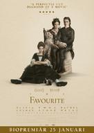 The Favourite - Swedish Movie Poster (xs thumbnail)