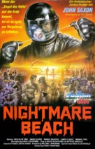 Nightmare Beach - German VHS cover (xs thumbnail)