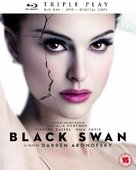 Black Swan - British Blu-Ray cover (xs thumbnail)
