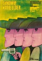 The Sons of Katie Elder - Polish Movie Poster (xs thumbnail)