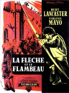 The Flame and the Arrow - French Movie Poster (xs thumbnail)