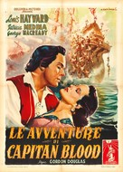 Fortunes of Captain Blood - Italian Movie Poster (xs thumbnail)