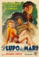 The Sea Wolf - Italian Movie Poster (xs thumbnail)