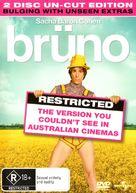 Brüno - Australian DVD cover (xs thumbnail)