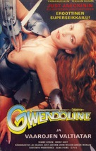 Gwendoline - Finnish VHS movie cover (xs thumbnail)
