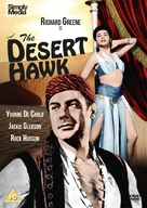 The Desert Hawk - British DVD cover (xs thumbnail)