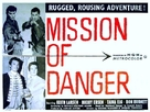 Mission of Danger - British Movie Poster (xs thumbnail)