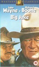 Big Jake - British VHS movie cover (xs thumbnail)