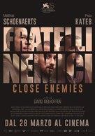 Frères ennemis - Italian Movie Poster (xs thumbnail)