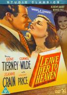 Leave Her to Heaven - British DVD cover (xs thumbnail)