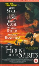 The House of the Spirits - British VHS cover (xs thumbnail)
