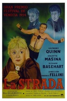 La strada - Spanish Movie Poster (xs thumbnail)