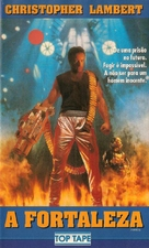 Fortress - Brazilian VHS cover (xs thumbnail)